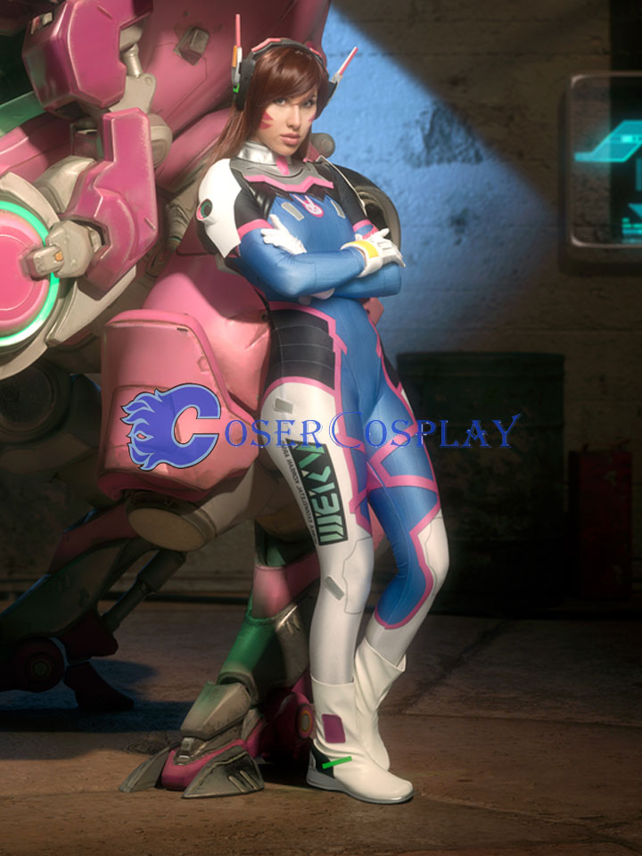 2018 Overwatch OW D Va Sexy Halloween Costumes For Women