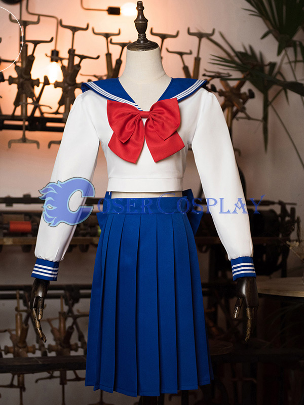 2018 Sailor Moon Crystal Long Sleeve Cosplay Costume