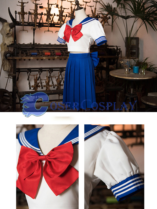 2018 Sailor Moon Crystal Lovely Cosplay Costume