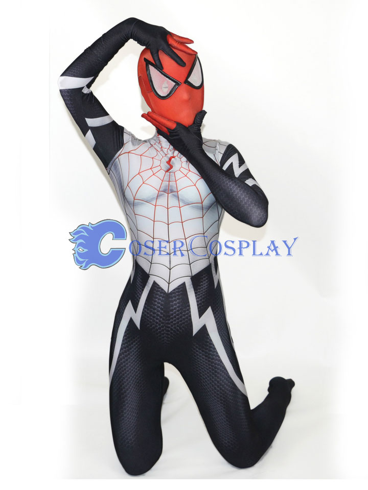 2018 Silk Spider Cindy Moon Cosplay Costume Halloween