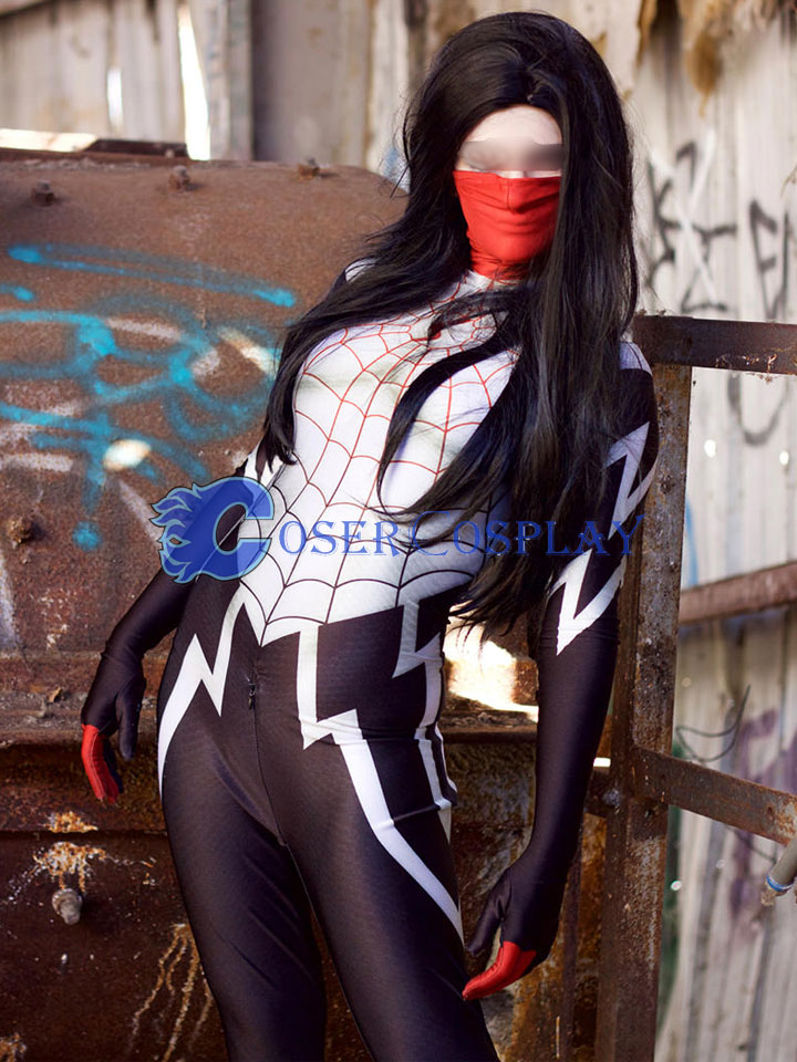 2018 Silk Spider Cindy Moon Sexy Costume Halloween
