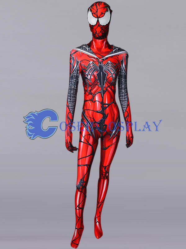 2018 Spider Gwen The White Widow Costume Cosercosplay