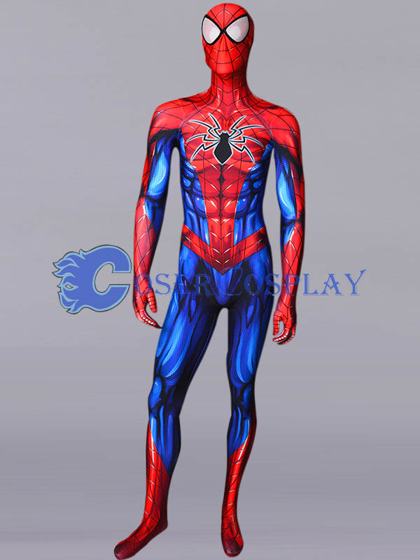 2018 Spiderman Sexy Zentai Halloween Costumes
