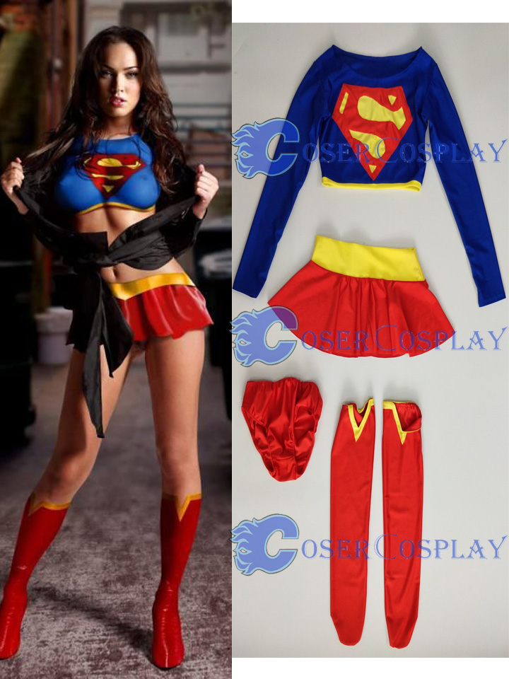 2018 Supergirl Sexy Halloween Costumes For Women