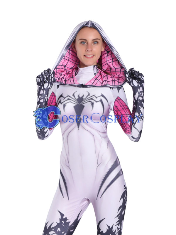 2018 Venom Gwen Stacy Cosplay Costume Sexy Halloween