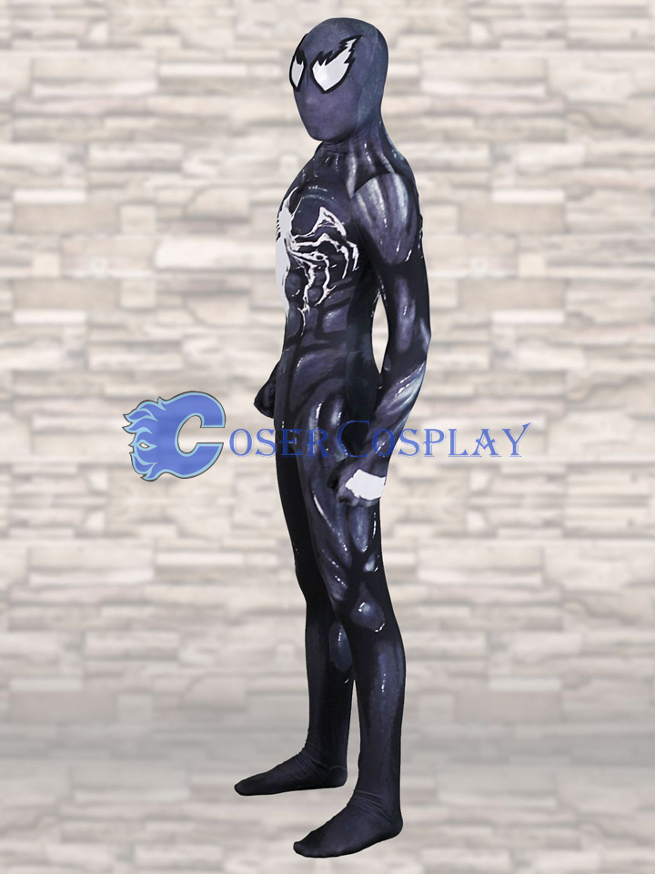 2018 Venom Spiderman Cosplay Costume Halloween