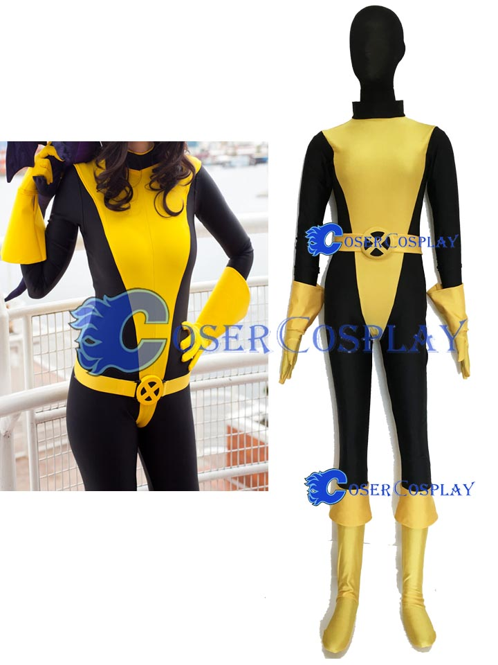 2018 X Men Kitty Pryde Shadowcat Cosplay Costume