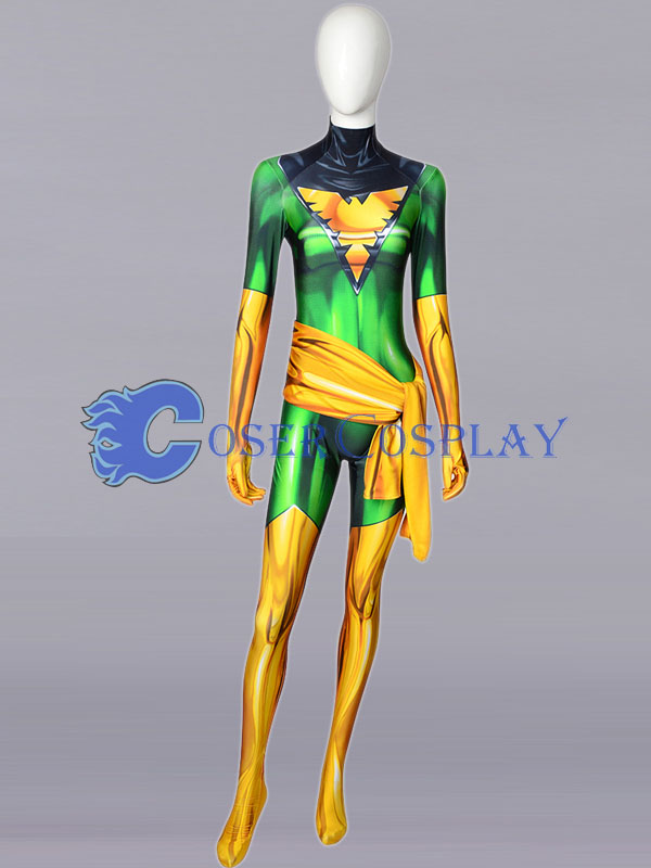 2018 X men Phoenix Jean Grey Cosplay Costume
