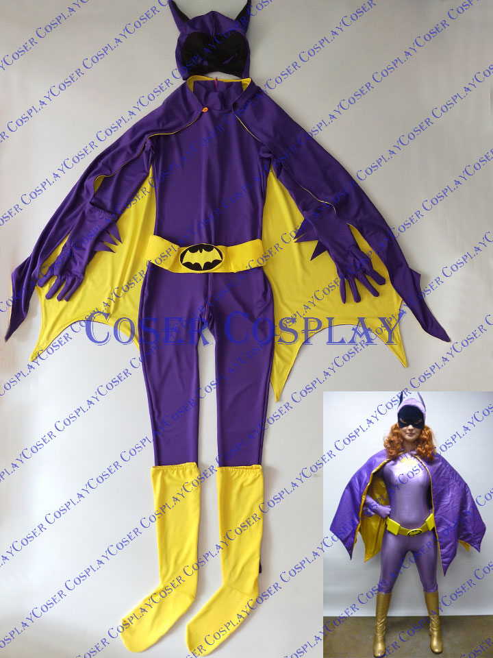 2019 Batgirl Barbara Gordon Cosplay Costume 0325