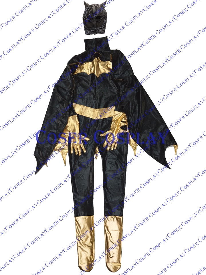 2019 Batgirl Barbara Gordon Sexy Halloween Costumes For Women 0805