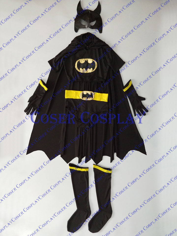 2019 Batgirl Cosplay Costume Sexy Halloween Costumes For Women 0421
