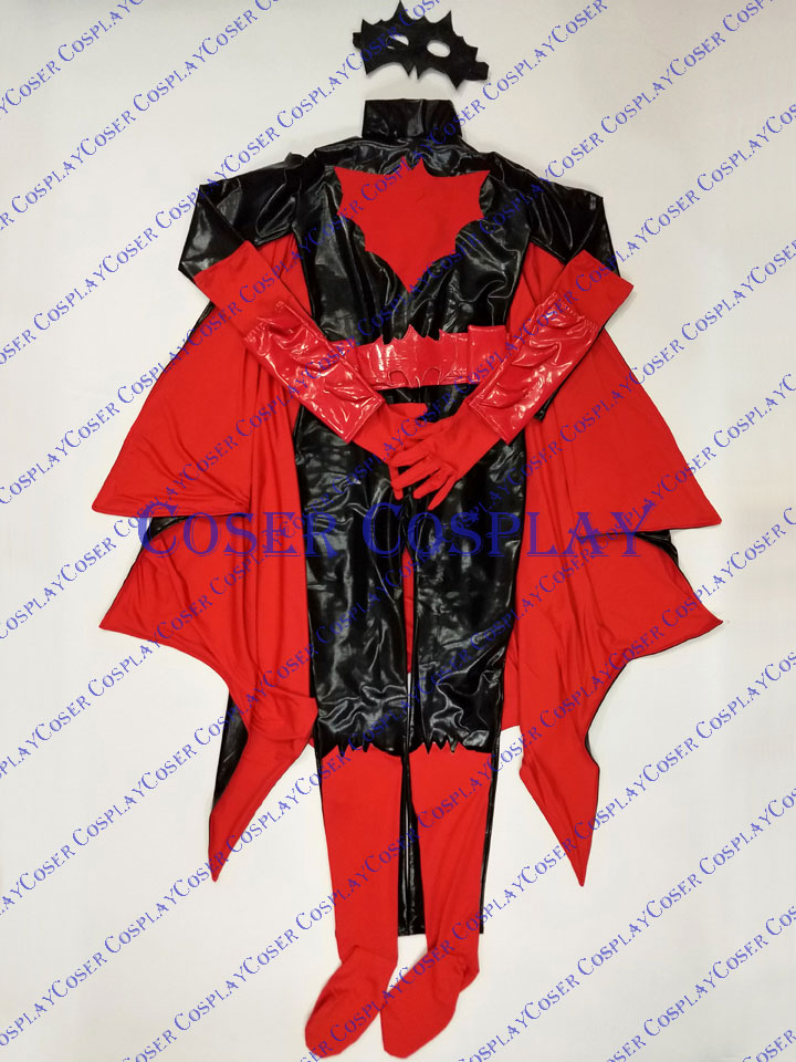 2019 Batwoman Kate Kane Cosplay Costume Sexy Halloween 0419