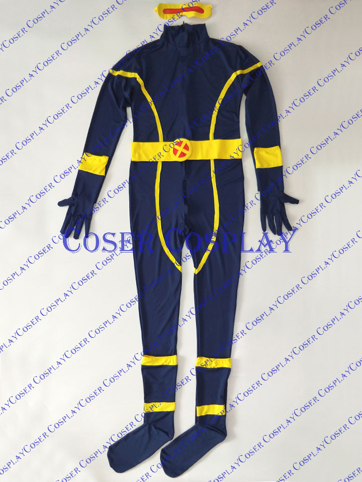 2019 Cyclops Scott Summers X Men Cosplay Halloween Costume 0809