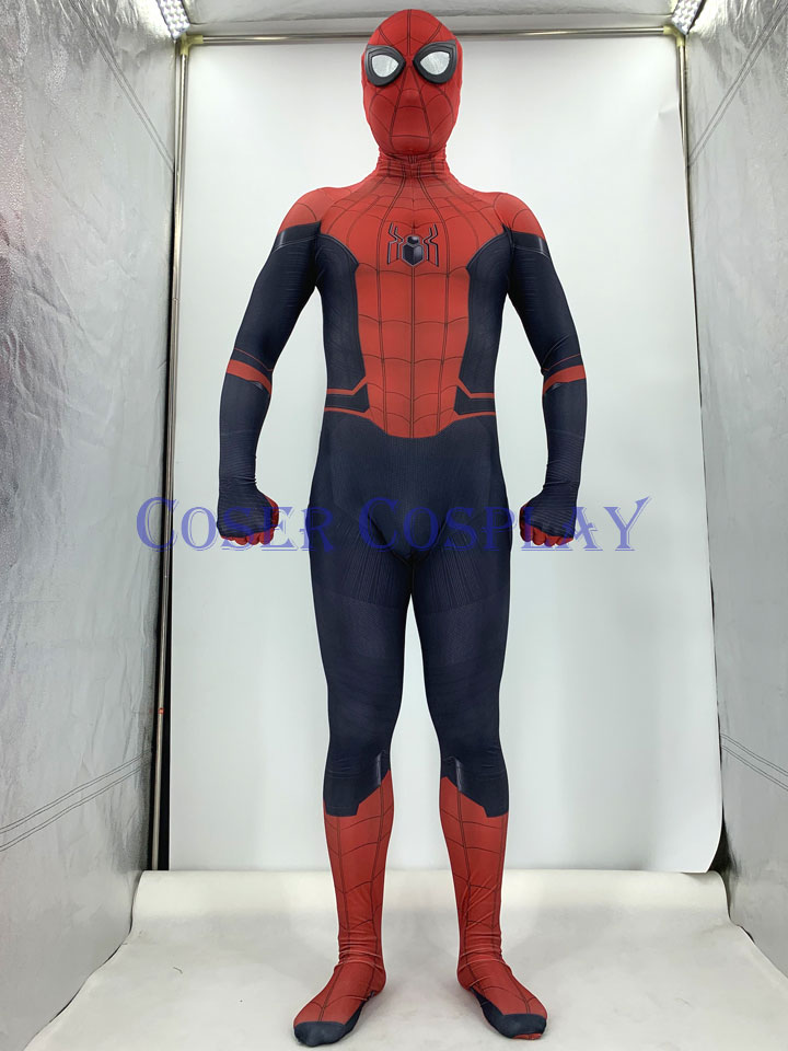2019 Far From Home Spiderman Kids Halloween Costumes 0828