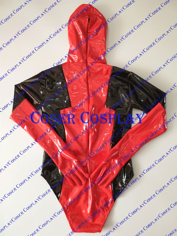 2019 Female Deadpool Lady Sexy Halloween Costumes For Women PVC 0428