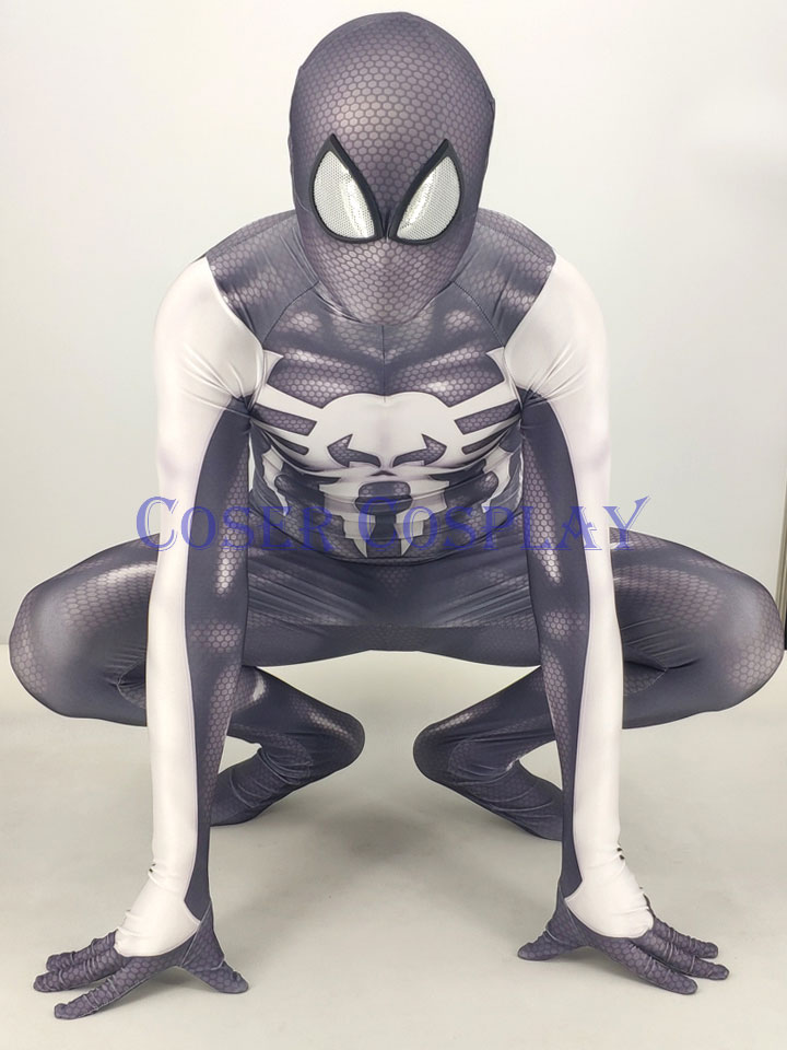 2019 Frank Castle Punisher Spiderman Kids Cosplay Costume 0828