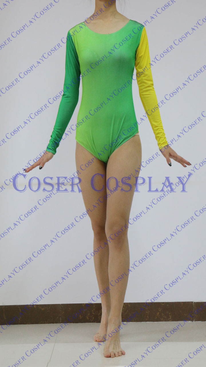 2019 Gradient Color Long Sleeve New Catsuit Of Lycra 0322