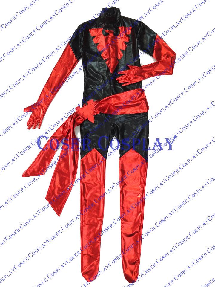2019 Jean Grey Dark Phoenix X Men Halloween Costume 0809