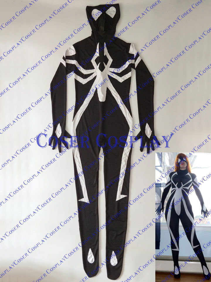 2019 Julia Carpenter Spider Woman Arachne Costume 0325