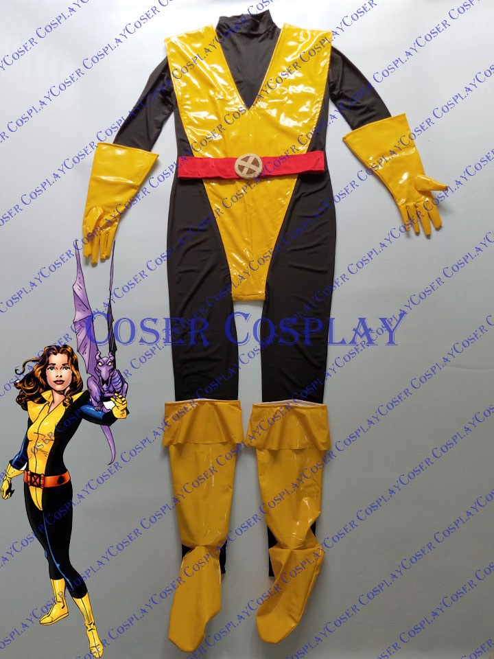 2019 Kitty Pryde Shadowcat Cosplay Costume Woman Halloween X Men 0419