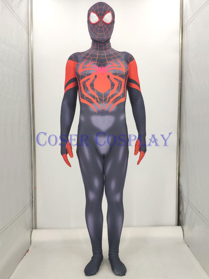 2019 Miles Morales Spider Man Kids Halloween Costumes 0828