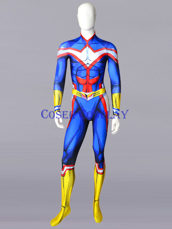 2019 My Hero Academia All Might Halloween Costume 0806