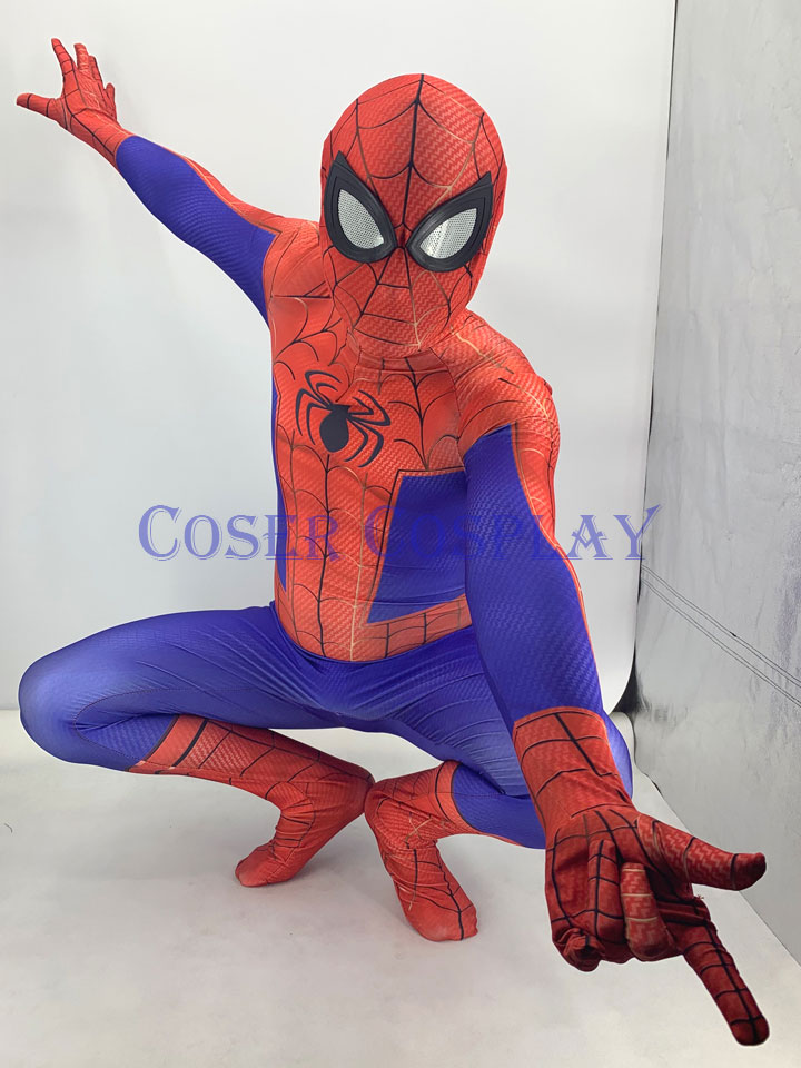 2019 Peter Parker Spiderman Halloween Costume For Kids 0906