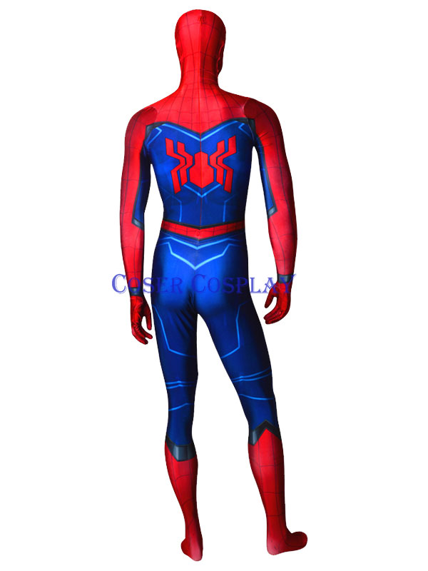2019 Spider Man Homecoming Sequel Cosplay Costume 0806