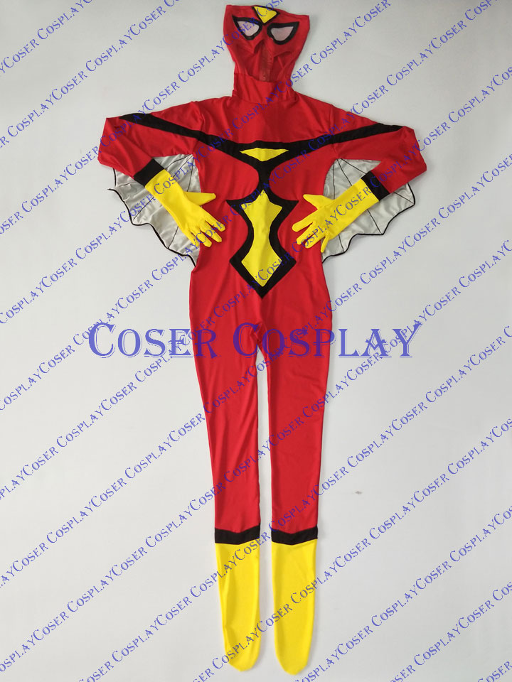 2019 Spider Woman Jessica Drew Cosplay Costume Catsuit 0805