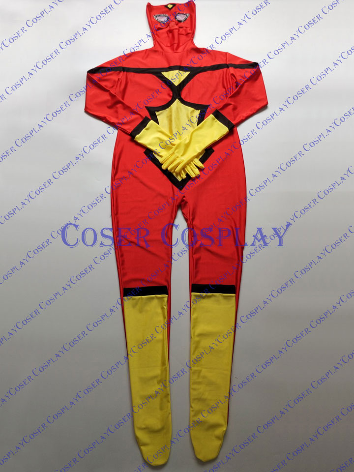 2019 Spider Woman Jessica Drew Sexy Catsuit Cosplay Costume 0419