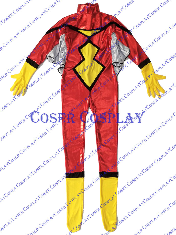 2019 Spider Woman Jessica Drew Sexy Cosplay Costume 1010
