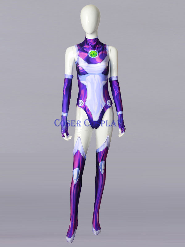 2019 Starfire Princess Koriand r Halloween Cosplay Costume 0806