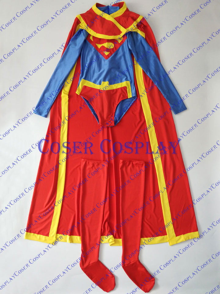 2019 Supergirl Cosplay Costume Halloween For Woman 0823