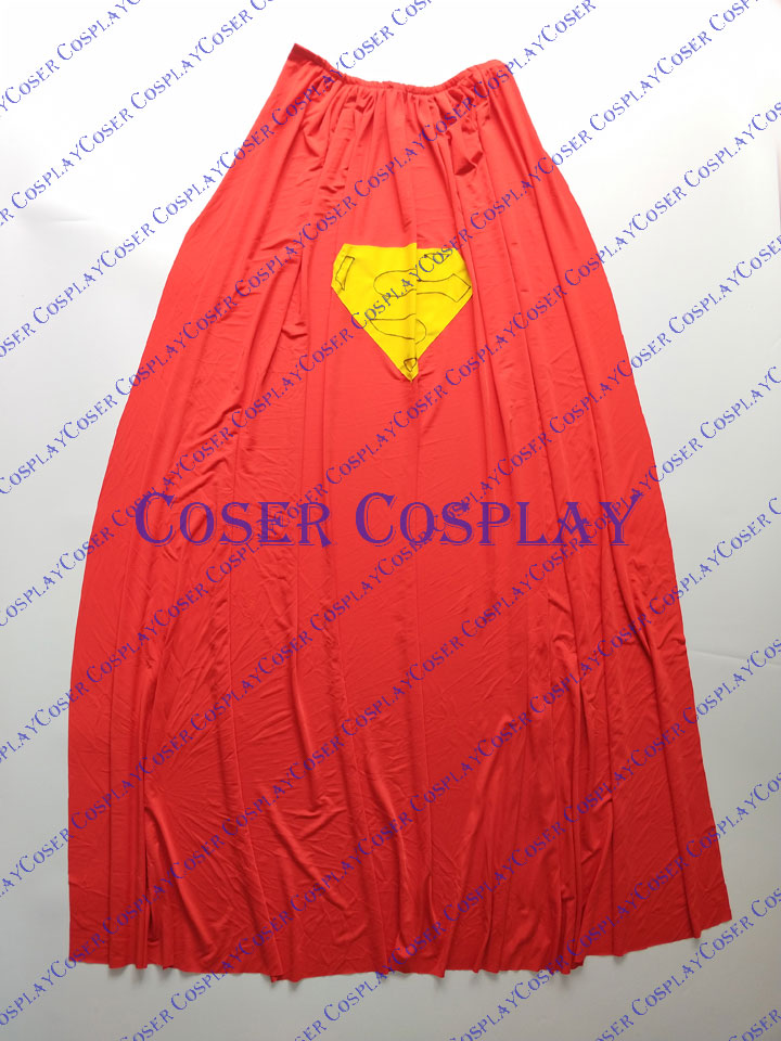 2019 Superman Cosplay Costume With Cape Classic 0421