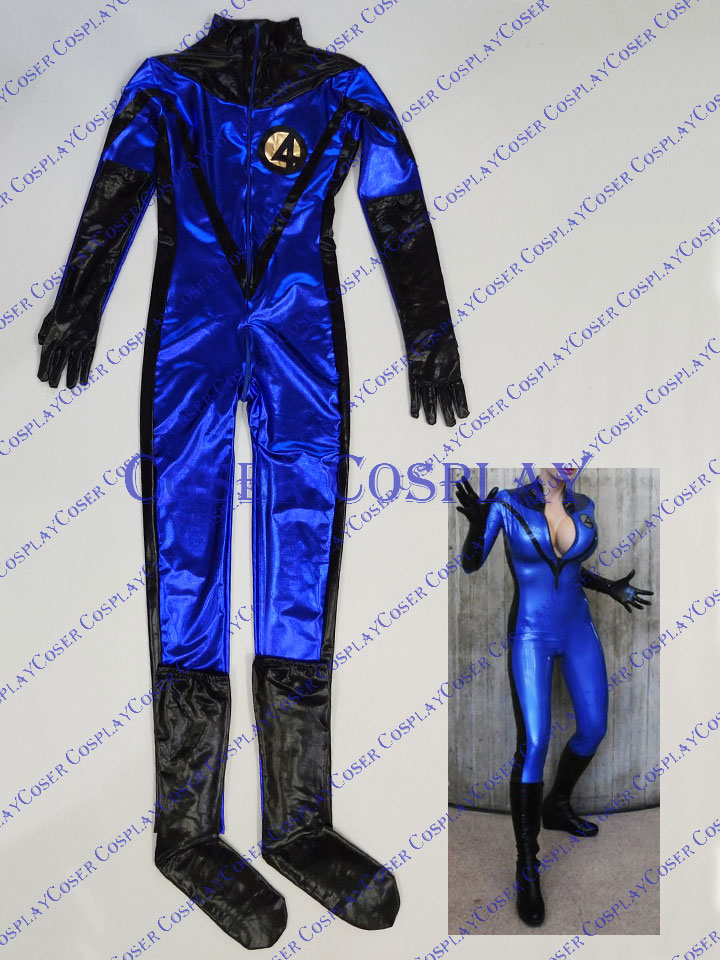 2019 X Man Marvel Sue Storm Cosplay Costume Halloween 0322