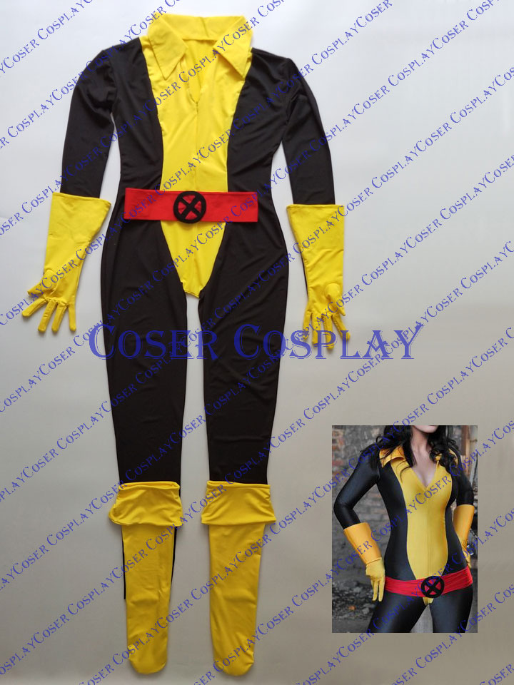 2019 X Men Kitty Pryde Shadowcat Cosplay Costume 0322