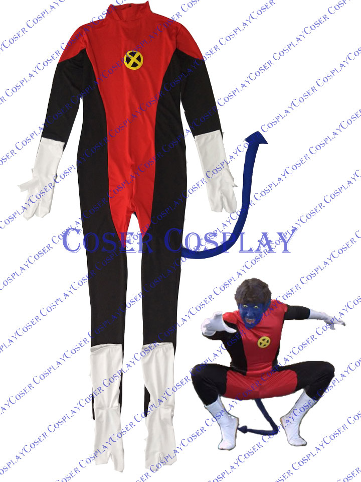 2019 X Men Kurt Wagner Nightcrawler Sexy Halloween Costumes 1010