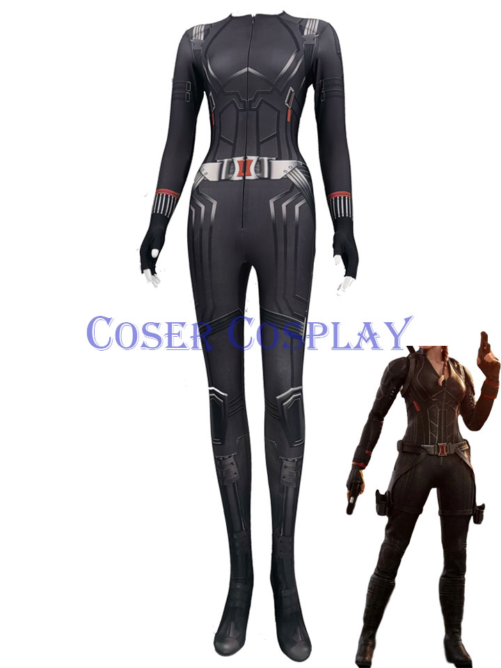 2020 Black Widow Sexy Halloween Cosplay Costumes for Women 0428