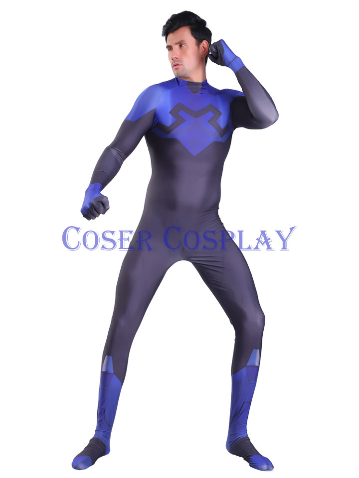 2020 Blue Beetle Halloween Costumes For Men 3107