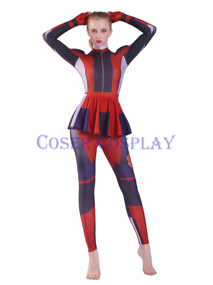 2020 Descendants Mal Halloween Costumes Woman 2408