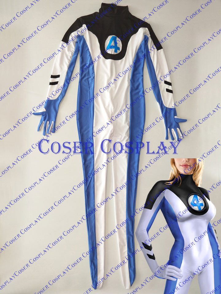 2020 Invisible WomanMarvel Sue Storm Sexy Cosplay Costume
