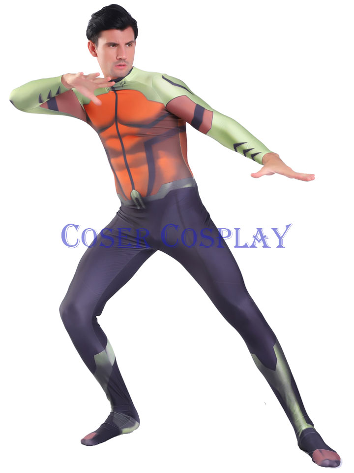2020 Justice League Aqualad Cosplay Costume 3107