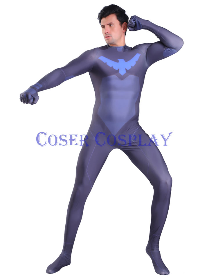 2020 Nightwing Halloween Costumes Bodysuits 1108