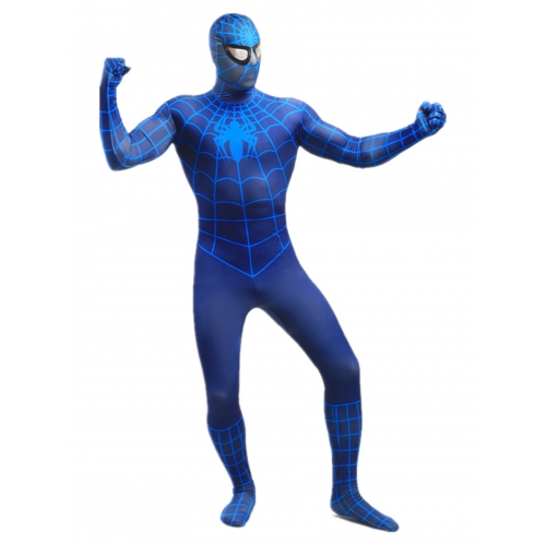 Adult Lycra Spiderman Halloween Costume