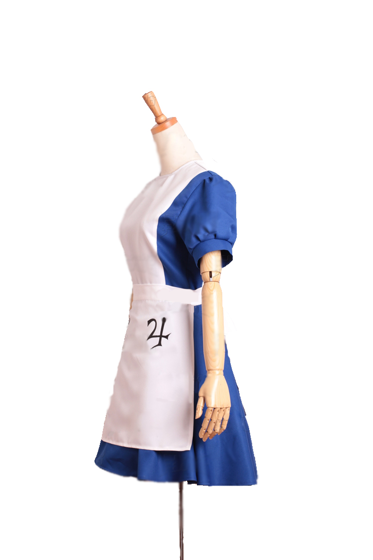 Alice Madness Returns Alice Maid Cosplay Costume