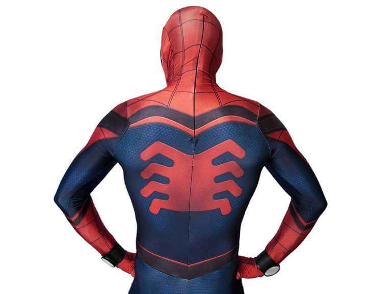 Amazing Civil War Spiderman Costume 16081603