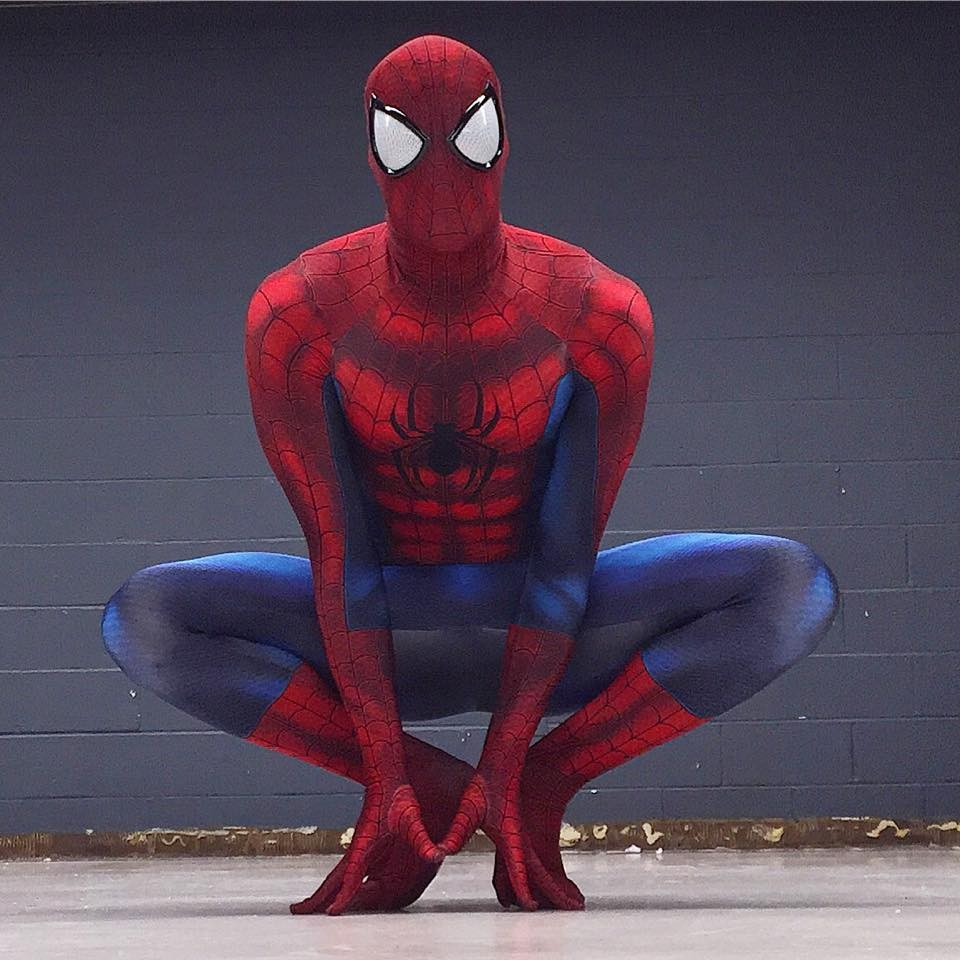 Amazing Spiderman Costume For Halloween 16081201