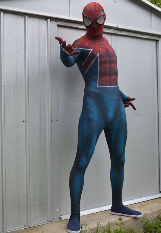 Amazing Spiderman Costume Halloween Zentai Suits 16081604