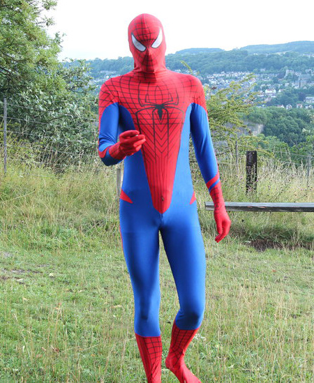 Amazing Spiderman Costume Zentai Suits 16081601