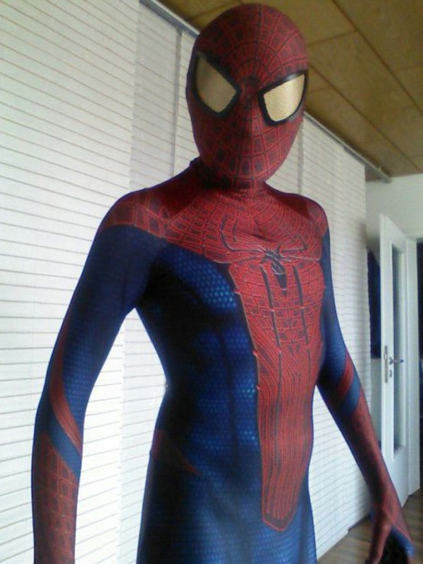 Amazing Spiderman Costumes Halloween 16081207